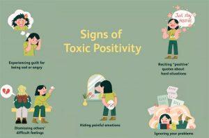 مثبت بودن سمی (Toxit Positivity) چیست؟